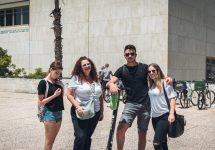 סיור מגמת מדעי החברה-מגדר ברחבי תל אביב